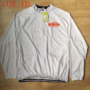 Pro Team Long Sleeve Cycling Jersey Men Bike Outfit Bicycle Long Shirts Size 4XL