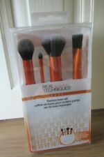 Real Techniques Flawless Base Makeup Brush Set ~ New ~ FREE P&P