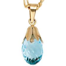Halsketten und Anhänger für Damen für besondere Anlässe mit echten Edelsteinen-gefärbte