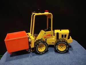 VINTAGE 1970s TONKA FORKLIFT #52900 CARGO BOX XR-101 EXCELLENT CONDITION