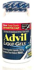 ADVIL LIQUI-GELS 160 COUNT 200 MG IBUPROFEN PAIN RELIEVER (NSAID) EXP 02/2019 +