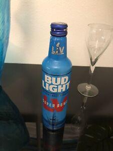 Bud Light Super Bowl LV 2021 Aluminum Bottle