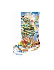Disney Heroes Christmas Stocking #2. Cross Stitch Kit.