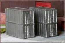 Knightwing H7 International 20' Containers 4 Pack - Plastic Kit - OO Gauge