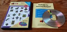 Amazing Designs Embroidery Solutions: Stained Glass 1 (PC CD-ROM) ADP-19P