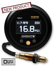 Innovate 3882 SCG-1 Digital Boost Controller Wideband Air Fuel Ratio Gauge Kit