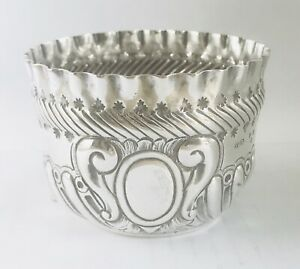 Antique Rare English Queen Victoria sterling silver bowl,London , c1890