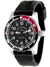 Zeno-Watch Basel Airplane Diver Quartz 6349 Black / Red