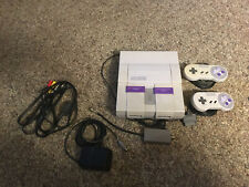 1991 Super Nintendo Entertainment System with 10 Games.