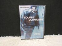 2007 The Bourne Ultimatum With Matt Damon Universal Pictures DVD, NEW