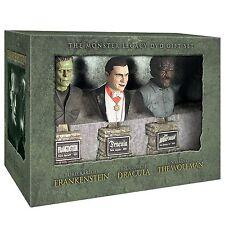 Frankenstein Dracula Wolfman Universal Studio Monsters Büsten Busts Set Sideshow
