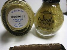 2 yes 2 pcs Nicole by Opi Nail Polish #Ni U01 Carrie'D Away Carried Away shade