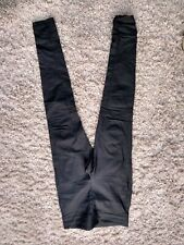 Ladies Leather Look Trousers Size M By Firetrap