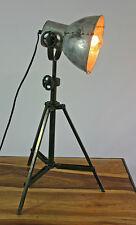 Tischlampe Tischleuchte Stativlampe Industriedesign Fabrikstil Metall vintage