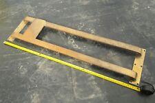 Old ~ Solid Brass Door Push Bar