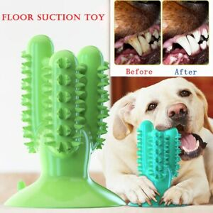 Dog Toothbrush Cute Toys Interactive Training IQ Teeth Cleaning Durable Puppy