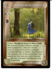 MIDDLE EARTH DARK MINIONS RARE CARD CHOICE OF LUTHIEN, grade 9/10