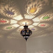 Arabische Laterne Lampe Hängeleuchte Marokkanische Hängelampe PELOTA Kupferbraun
