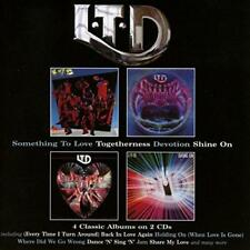 L.T.D. - Something To Love/Togetherness/Devotion/Shine On (NEW 2CD)