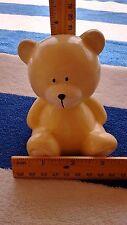 New listing Yellow Bear Cub Coin Bank