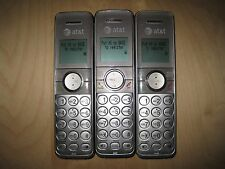 Lot of 3 At&T Cl82301 1.9 Ghz Cordless Expansion Handset Phone