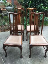 Art Deco Dining Chairs x4
