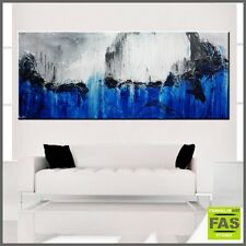 Huge Modern Abstract Painting Textured Canvas 240cm x 100cm - Franko - Australia