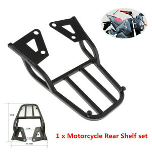 Motorcycle Tail Luggage Rack Seat Extension Bracket For Mounting Rear Tail Box