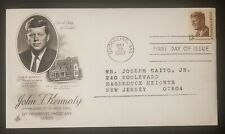 John F Kennedy JFK FDC 13 Cents Scott 1287 Art Craft