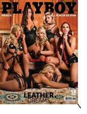 PLAYBOY MEXICO LEATHER DREAMS MARCH/MARZO 2016 PLAYBOY MEXICAN EDITION NEW
