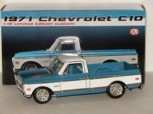 1:18 Scale GMP/ACME 1971 Chevrolet C-10, # A1807209, No Front Bumper