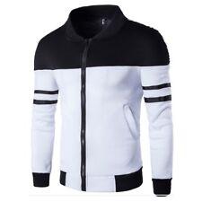 New Men's Winter Slim Hoodies Warm Zipper Jacket Hooded Sweatshirts Coat Outwear