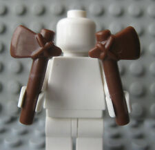 Custom TOMAHAWK Lot 2 pcs for Lego Minifigures Indian Western -Brown-