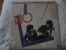 DAROL ANGER & MIKE MARSHALL THE DUO VINYL LP 1983 ROUNDER RECORDS ROTAGILLA, EX