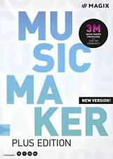 Magix Music Maker Plus Edition Vollversion, 1 Lizenz Windows Musik-Software