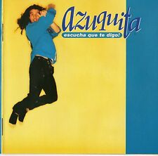 "AZUQUITA ""ESCUCHA QUE TE DIGO"" SPANISH FIRST PRESSING CD TECNO-RUMBA MANOLO TENA"