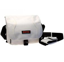 Pentax Nylon DSLR Case Shoulder Kit Bag - White