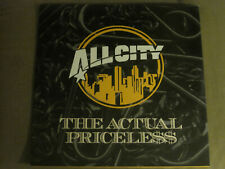 "ALL CITY THE ACTUAL / PRICELESS 12"" OG '98 GEFFEN PROMO PETE ROCK DJ PREMIER VG+"