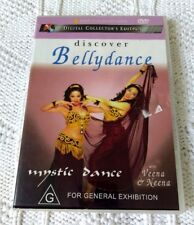 DISCOVER BELLYDANCE- MYSTIC DANCE - DVD, R-4, LIKE NEW, FREE POST IN AUSTRALIA