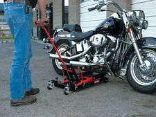 Motorcycle & ATV Jack 1500 lb Lift Hoist by: Craftsman Repair Bike Tire Garage