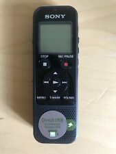 Sony Digital Voice Recorder, Direct USB Connection, Micro SD Card