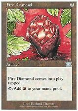 *MRM* FRENCH 2x Diamant du feu - Fire Diamond MTG 6th edition
