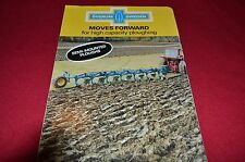 Overum Semi Mounted Ploughs Plow Dealers Brochure  LCOH