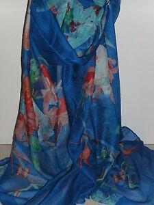 BNWT Light Weight Floral/Butterfly/Bird  Design Scarf/Sarong 180 cm x 110 cm