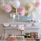 "1/10Pcs Tissue Paper Pompoms Flower Balls Home Wedding Party Supplies 8""/10""/14"""