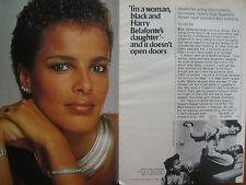 1984 TV Guide (SHARI  BELAFONTE-HARPER/GRETA  SCACCHI/V/JANE BADLER/MARC SINGER)