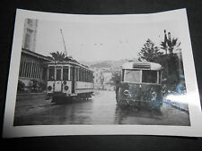 1940 FOTOGRAFIA TRANVIA OSPEDALETTI SAN REMO TAGGIA  LIGURIA SOCIETA' STEL