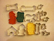 Vintage Kitchen Lot Cookie Cutter - Fire Fighter Fireman FD Hydrant Junk Drawer