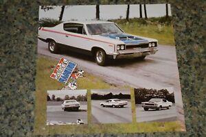 ★★1970 AMC REBEL MACHINE PICTURE FEATURE PRINT PHOTO 70 390 ENGINE★★
