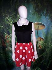 Women's Disney Minnie Mouse Dress Costume Size M